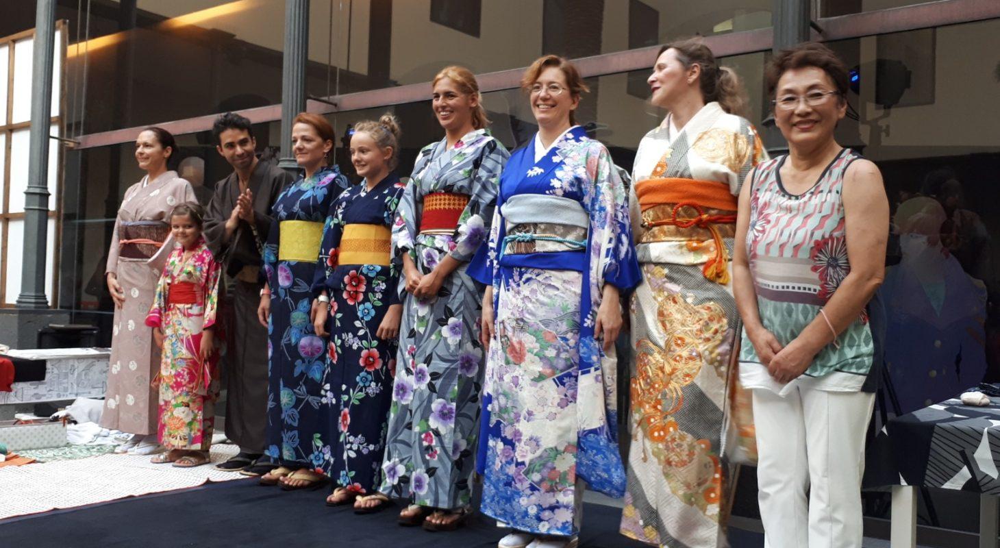 52f1dc0b9 El Museo de la Naturaleza enseña los secretos del kimono, la ...