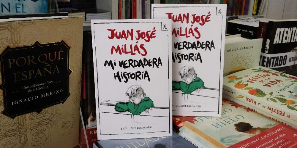 """El Libro de la semana recomendado por Culturamanía y El Libro en Blanco es """"Mi verdadera historia"""", de Juan José Millás"""